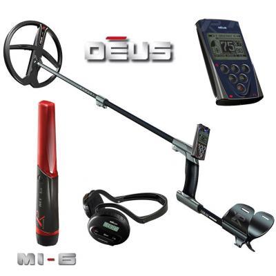 Металлоискатель XP Deus v5.21 c блоком управления с наушниками WS4 c катушкой X35 28 см (11'')