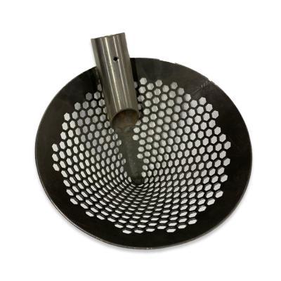 Скуп (скуб) коносом черный метал
