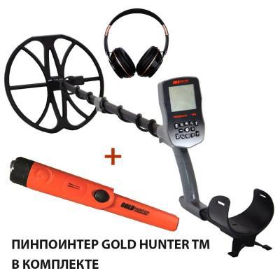 "Металлоискатель Gold Hunter T90 Frogman с катушкой 13"" + пинпоинтер TM"